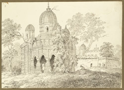 Hindu temple, Jehanabad (Bengal). 26 January 1823